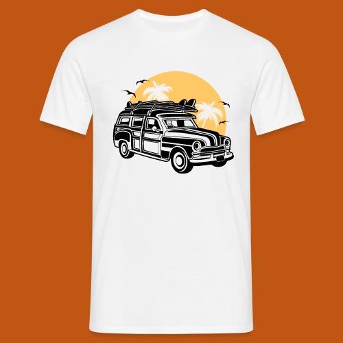Chevy Cadilac Woodie / Oldtimer Kombi 01_3c - Männer T-Shirt