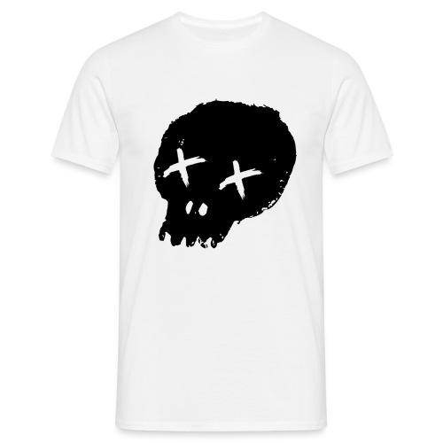 blackskulllogo png - Men's T-Shirt