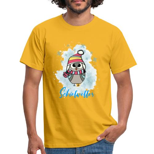 Schietwetter Design - Männer T-Shirt