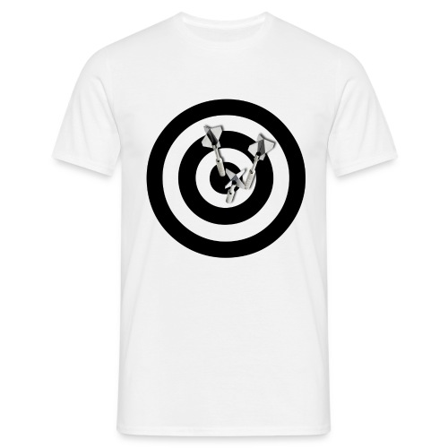 BULLS EYE DART - Herre-T-shirt