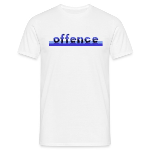 offence ocean copy2 gif - T-skjorte for menn