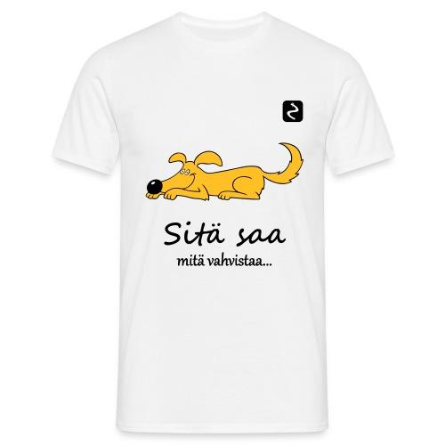 sita saa mita vahvistaa 3 s - Miesten t-paita