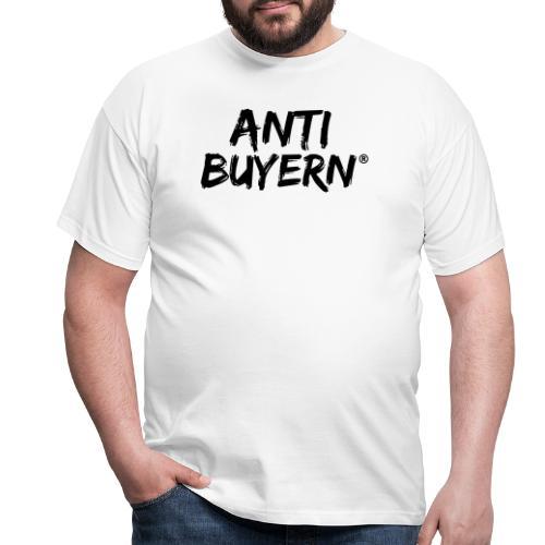 ANTI BUYERN BLACK - Männer T-Shirt