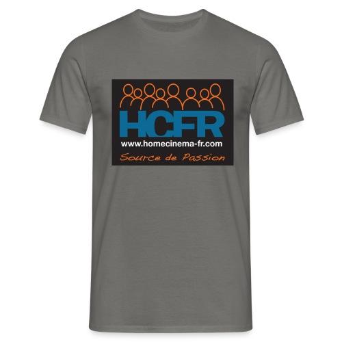logo hcfr noir 400 - T-shirt Homme