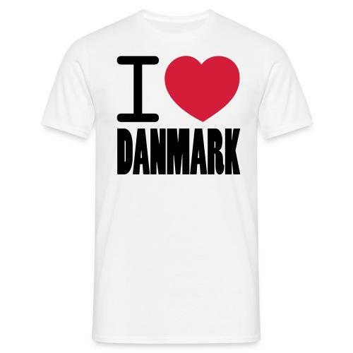 ilovedanmark - Herre-T-shirt