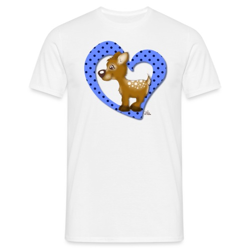 Kira Kitzi Blaubeere - Männer T-Shirt