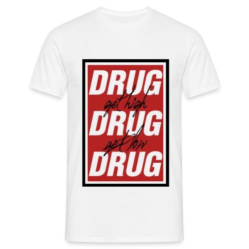 drug3 png - Männer T-Shirt