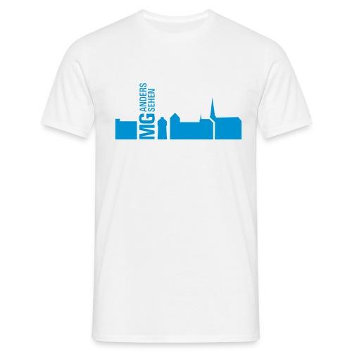 MG anders sehen Logo - Männer T-Shirt