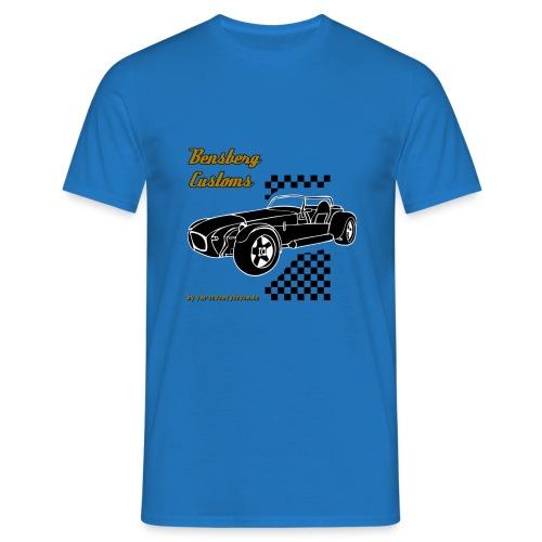 77 bc ii schwarz schwarzneu - Männer T-Shirt