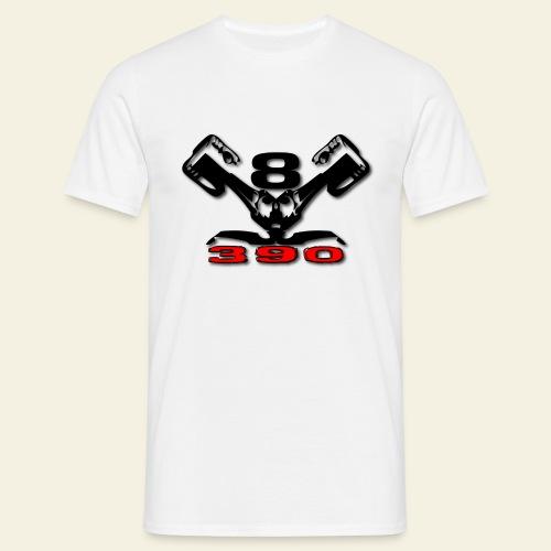390 v8 - Herre-T-shirt
