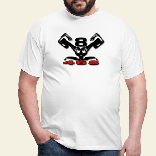468 v8 - Herre-T-shirt