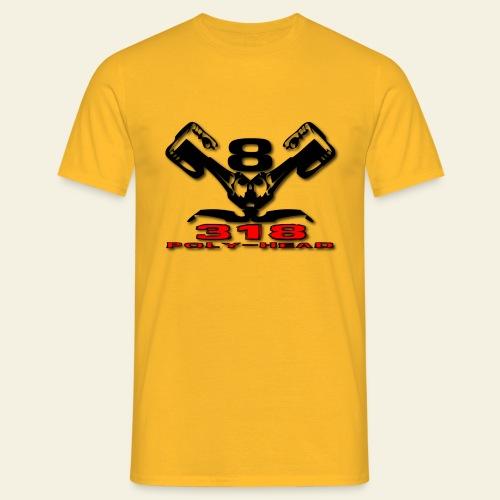 318p v8 - Herre-T-shirt