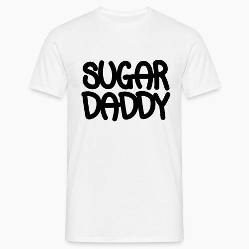 Sugar Daddy Zwart - Mannen T-shirt