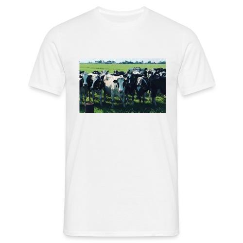Leve de boer - Mannen T-shirt