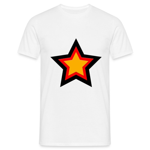 german star - Männer T-Shirt