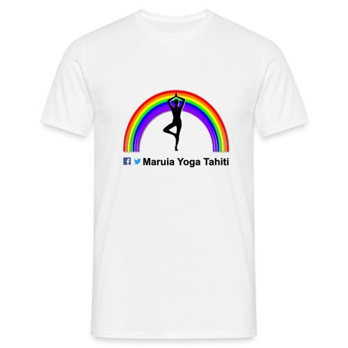 Logo de Maruia Yoga Tahiti - T-shirt Homme
