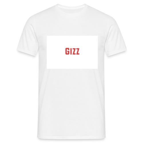 Gizz rood - Mannen T-shirt