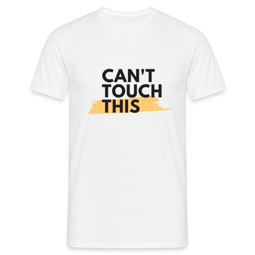 COVID Corona Collection - Can't touch this - Men's T-Shirt