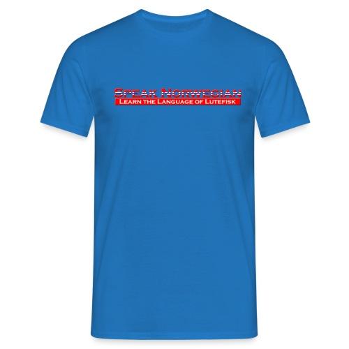 Speak Norwegian - T-skjorte for menn