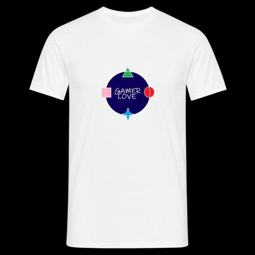 GAMER LOVE - Men's T-Shirt