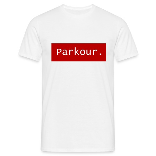 Parkour. - Mannen T-shirt