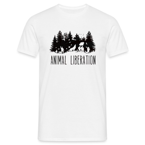 animal liberation - T-shirt Homme