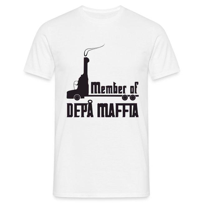 Depå Maffia svart tryck