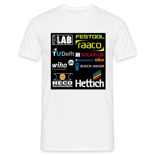 tshirt 2 rueck kopie - Men's T-Shirt