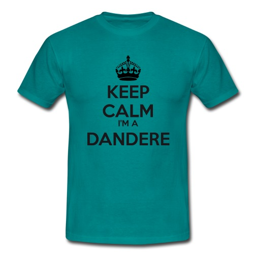 Dandere keep calm - Men's T-Shirt