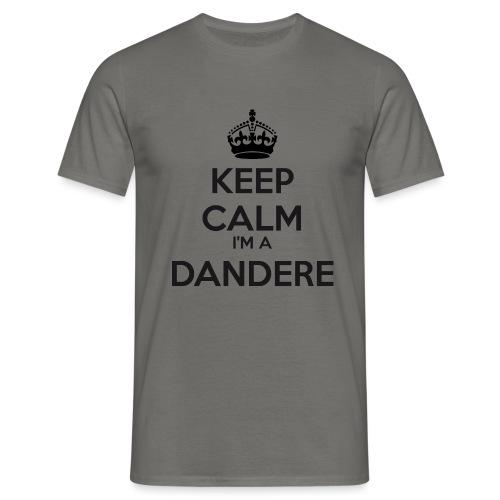 Dandere keep calm - Men's T-Shirt
