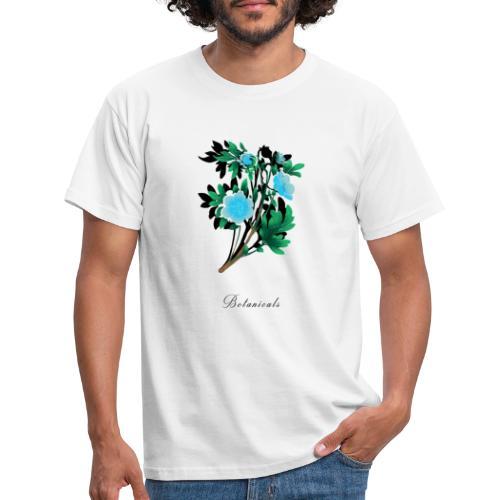 Disegno di nemophila blu - Maglietta da uomo