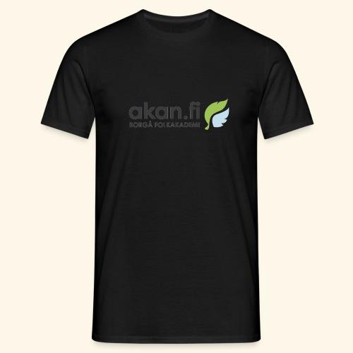 Akan Black - Miesten t-paita
