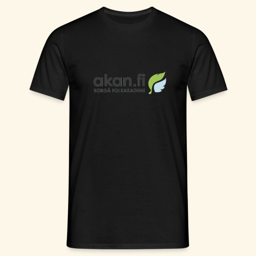 Akan Black - T-shirt herr