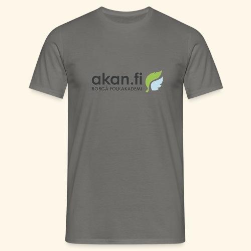 Akan Black - T-shirt herr