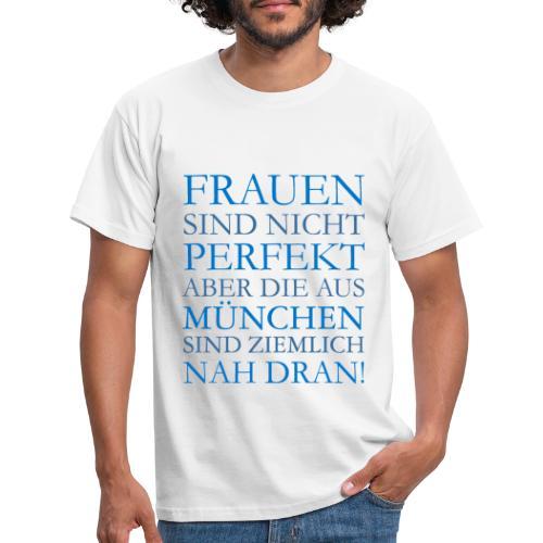 Frauen aus München (Blau) - Männer T-Shirt
