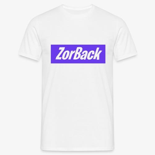 ZorBack's purple - T-shirt Homme