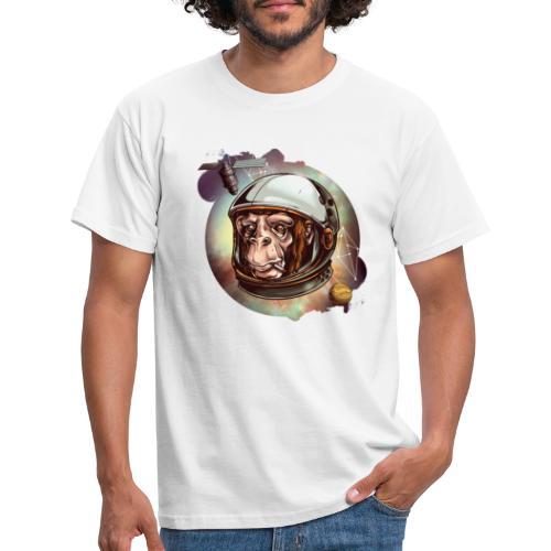 Affe Abstrakt - Männer T-Shirt