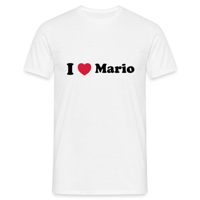 I love mario