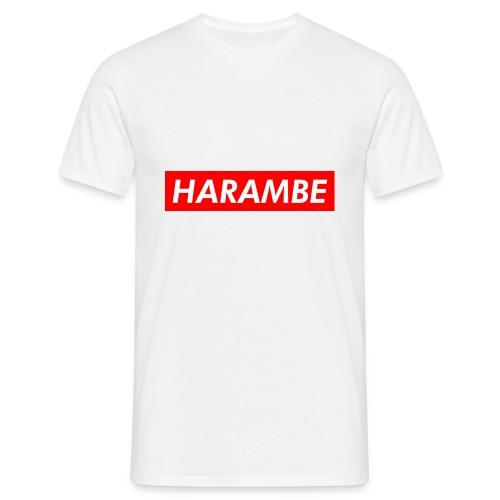 Harambe - Herre-T-shirt