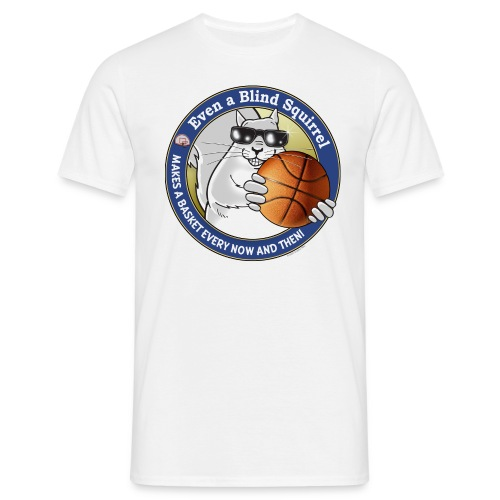 Blind Squirrel Basketball - Men's T-Shirt