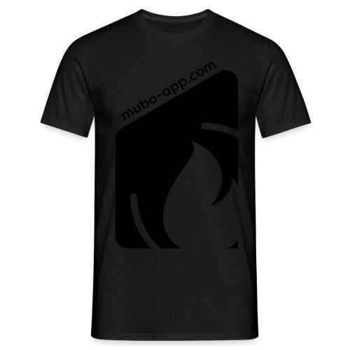 mubo box Black - Men's T-Shirt