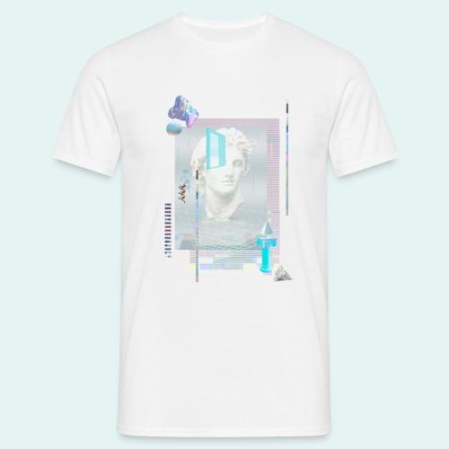 Glitch art - Herre-T-shirt