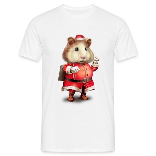 SANTA HAMSTER - Men's T-Shirt