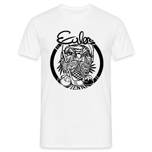 Eulers on White - Männer T-Shirt