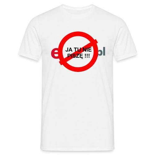nie pisze - Koszulka męska