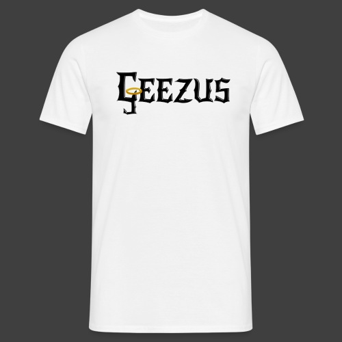 GEEZUS logo - Men's T-Shirt