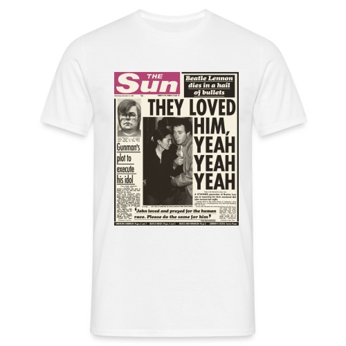They Loved Him FP C - Men's T-Shirt