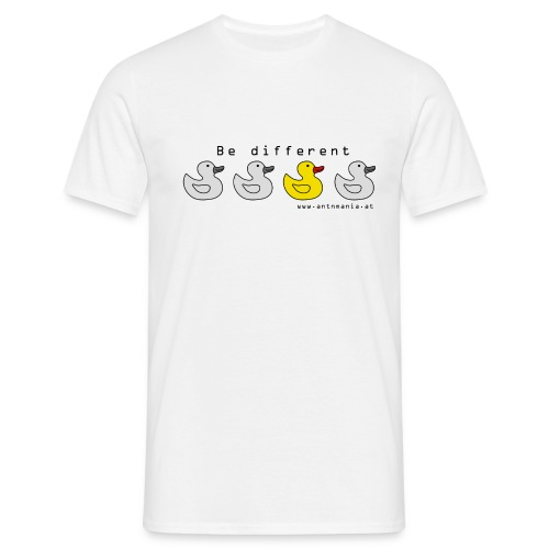bedifferent png - Männer T-Shirt