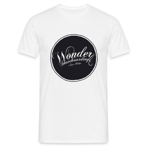 Wonder T-shirt - oldschool logo - Herre-T-shirt