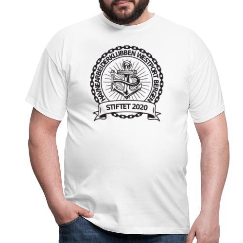 Havnearbeiderklubben westport bergen - T-skjorte for menn